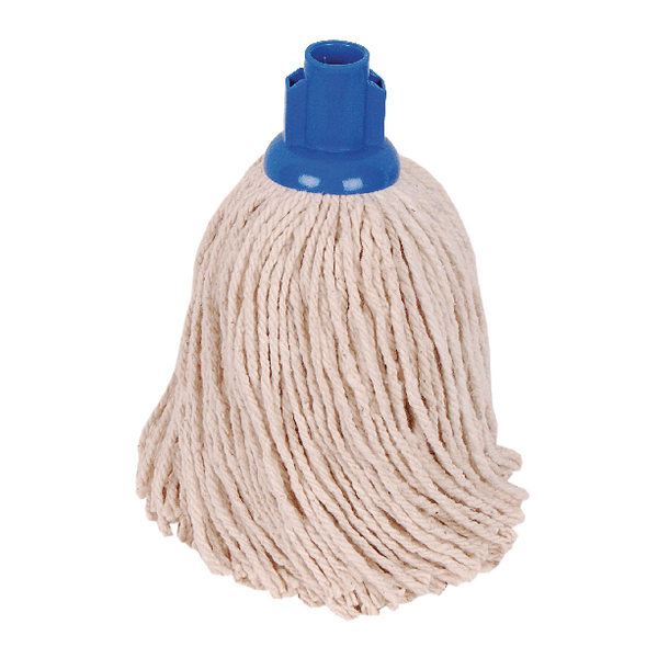 2Work 14oz PY Smooth Socket Mop Blue (10 Pack) PJYB1410I