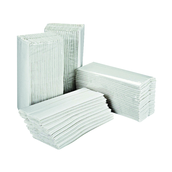 2Work 2-Ply C-Fold Hand Towels White (2355 Pack) HC2W23VW