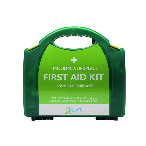 2Work Medium BSI First Aid Kit