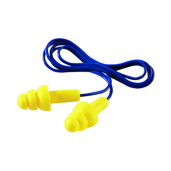 3M Ultrafit Corded Ear Plugs (50 Pack) UF-01-000