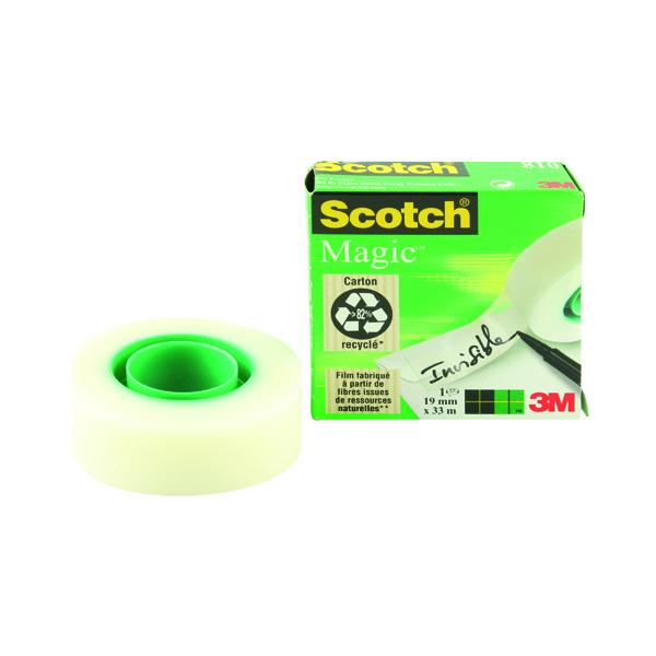 Scotch Magic Tape 810 19mmx33m 8101933