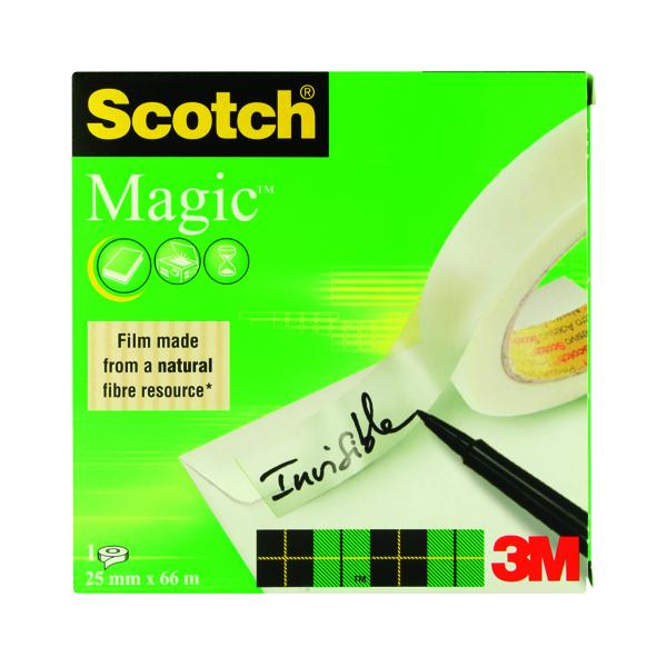 Scotch Magic Tape 810 25mmx66m Transparent 8102566