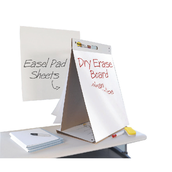 Post-it Dry Erase Table Top Meeting Chart 500 x 580mm Buy 2 Get 1 Free 3M811277