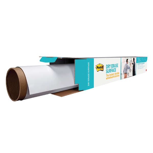 Post-it Super Sticky White Dry Erase Film Roll 609 x 914mm DEF3X2EU