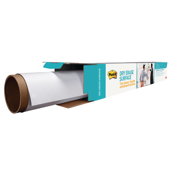 Post-it Super Sticky White Dry Erase Film Roll 914mm x 1.219m DEF4X3-EU