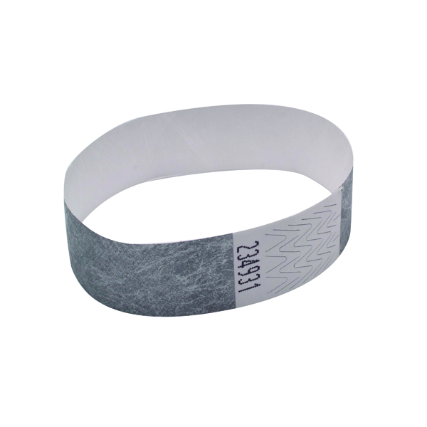 Announce Wrist Bands 19mm Silver (1000 Pack) AA01838