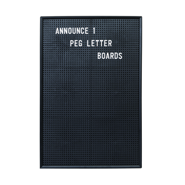 Announce Peg Letter Board 463 x 310mm 1/ECON-1/VC/EC-KIT692