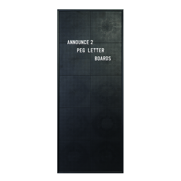 Announce Peg Letter Board 310 x 767mm 1/ECON-2/VC/EC-KIT692