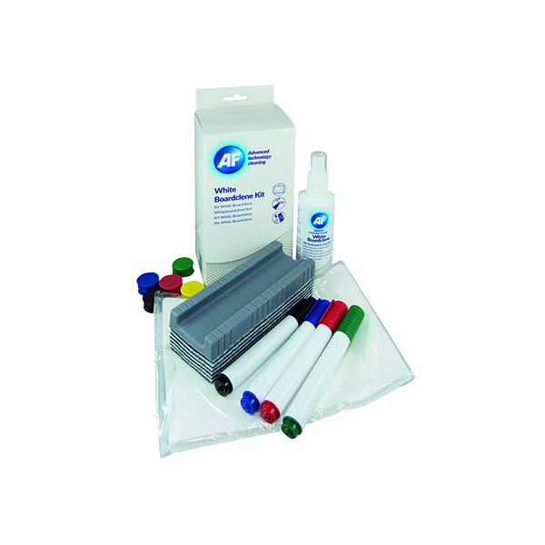 AF Whiteboard Cleaning Kit AWBlack 000