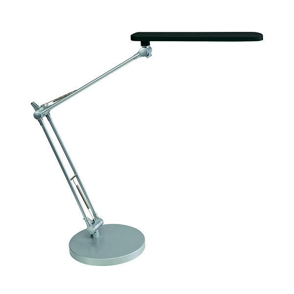 Alba Trek Black LED Desk Lamp LEDTREK