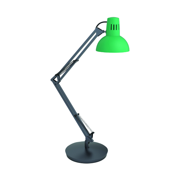 Alba Architect LED Desk Lamp Green ARCHICOLOR V1