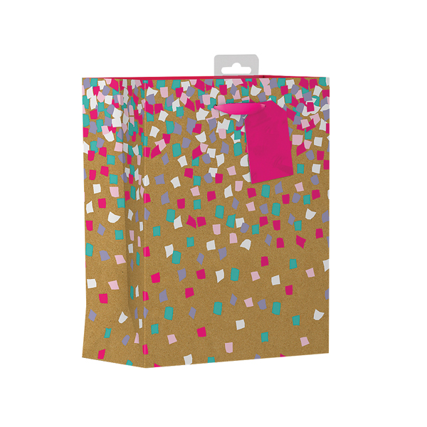 Giftmaker Confetti Gift Bag Medium (6 Pack) FCOM