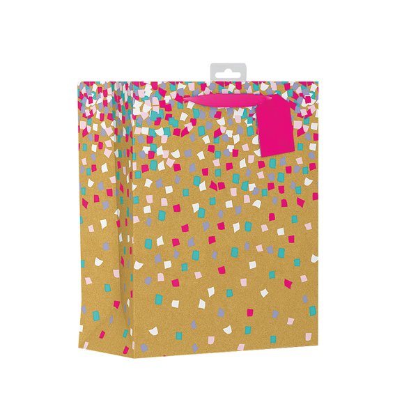 Giftmaker Confetti Gift Bag Large (6 Pack) FCOL