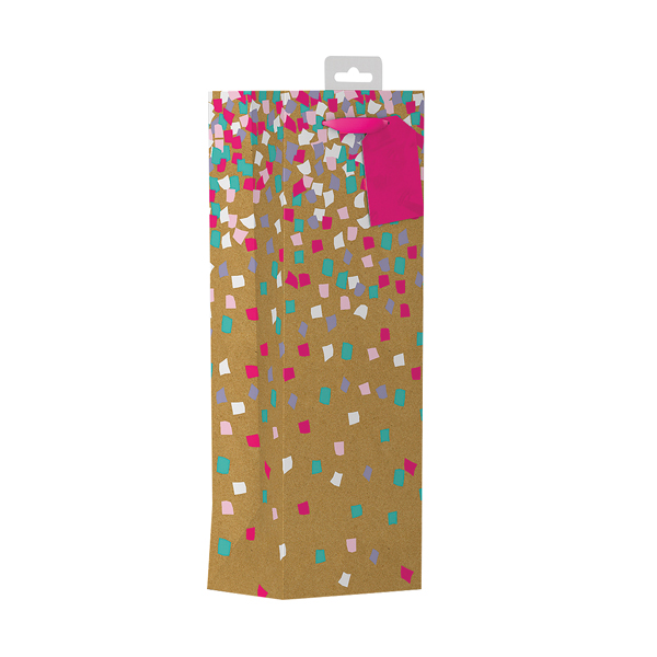 Giftmaker Confetti Bottle Bag (6 Pack) FCOB