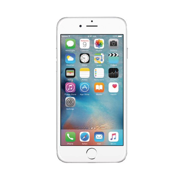Apple iPhone 6 Certified Pre-Owned 128GB Silver UK  REV03009010308150003