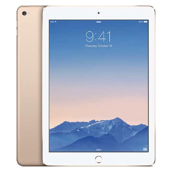 Apple 9.7in iPad Air 2 Wi-Fi + Cellular 128GB Gold MH1G2B/A
