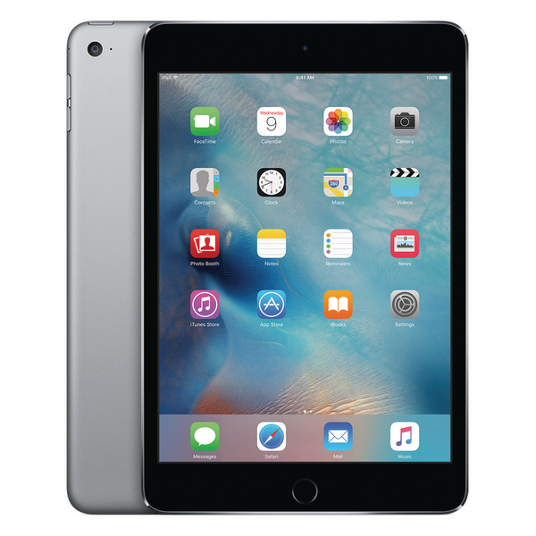 Apple 7.9in iPad Mini 4 Wi-Fi 128GB Space Grey MK9N2B/A