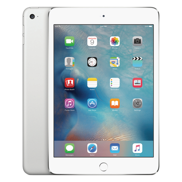 Apple 7.9in iPad Mini 4 Wi-Fi 128GB Silver MK9P2B/A