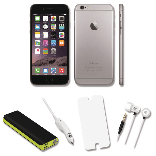 Apple iPhone 6 Certified Pre Owned Bundle Deal with 12000mah Power Bank APPBUNDLE4