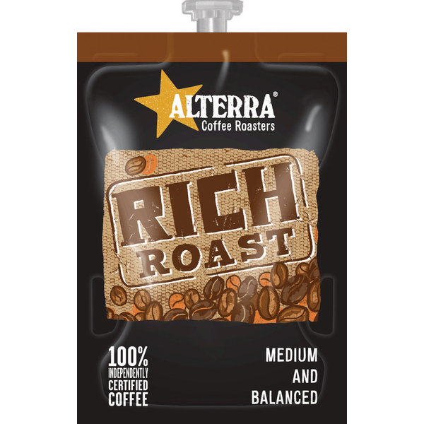 Flavia Alterra Rich Roast Sachets (100 Pack) NWT358