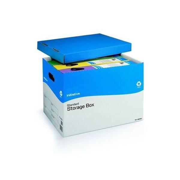Initiative Standard Storage Box  A4/Foolscap 284w x 383d x 290h mm (10 Pack)