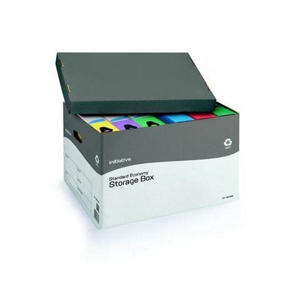 Initiative Economy Storage Box 317w x 384d x 287h mm (10 Pack)