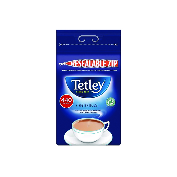 Tetley One Cup Tea Bag (440 Pack) A01352