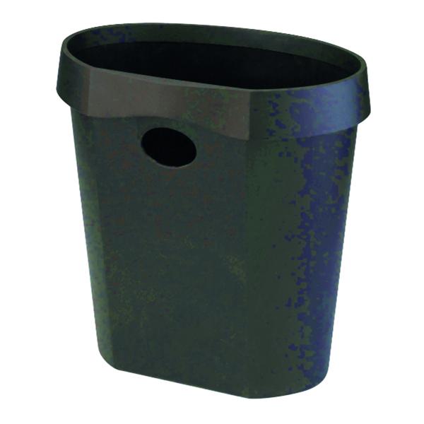 Avery DTR Eco 18 Litre Waste Bin Black DR500BLK