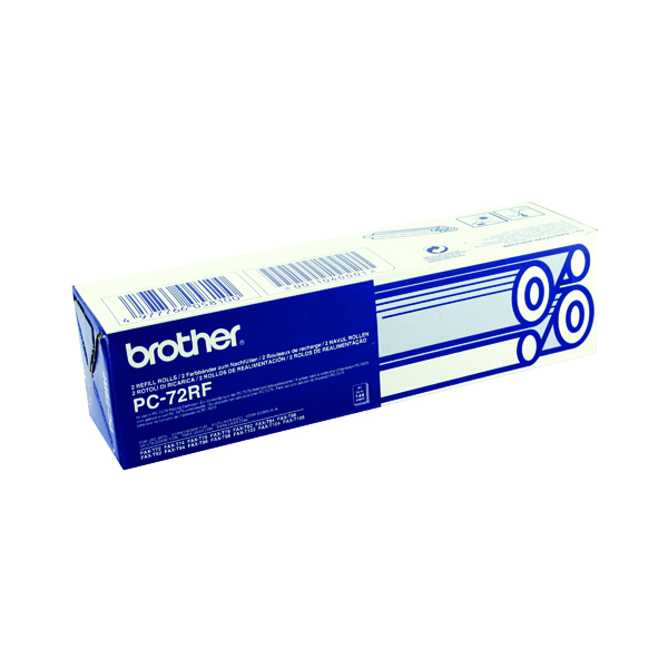 Brother Thermal Transfer Ink Ribbon (2 Pack) PC72RF