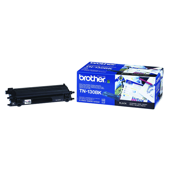 Brother TN130BK Black Laser Toner Cartridge TN-130BK