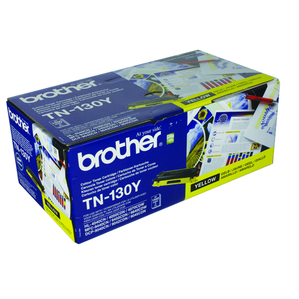 Brother Yellow TN130Y Laser Toner Cartridge