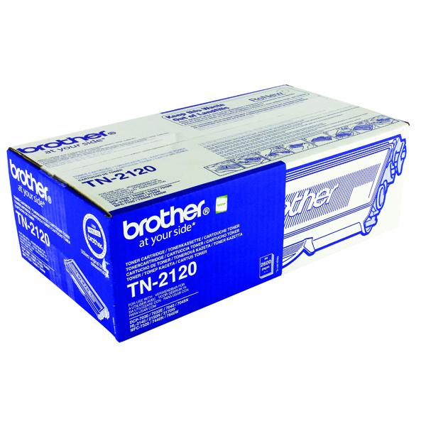 Brother TN-2120 Black High Yield Toner Cartridge TN2120