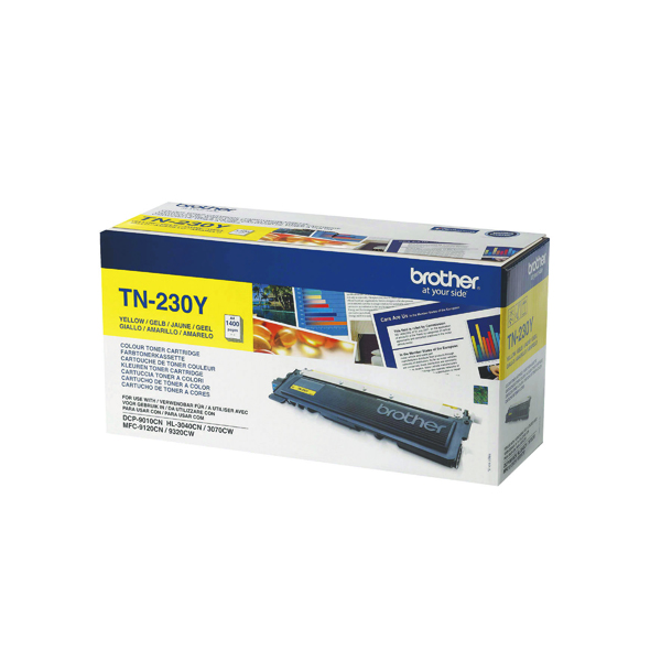 Brother MFC9120/9320 Laser Yellow Toner Cartridge TN230Y