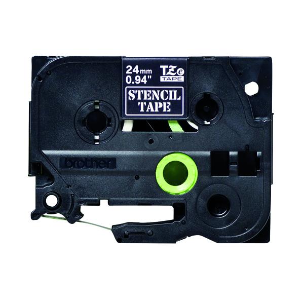 Brother Stencil Tape Black 24mm STe-151