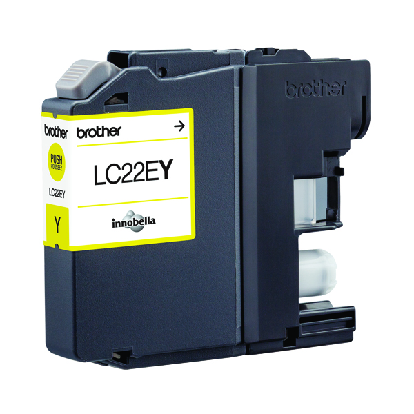 Brother Brother Ink Cartridge Yellow LC22EY LC22EY