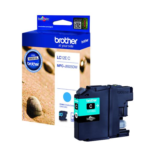 Brother Ink Cartridge Cyan LC12EC