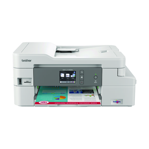 Brother DCP-J1100DW Wireless 3-in-1 Colour Inkjet Printer DCPJ1100DWZU1