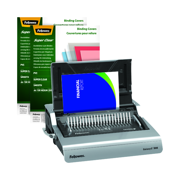 Fellowes Galaxy Electric Comb Binding Machine 5622101