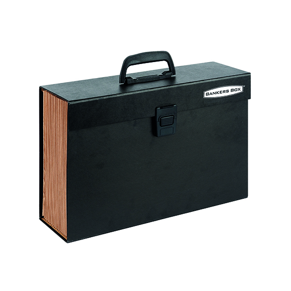 Fellowes Black Bankers Box Expanding Handifile 9351501