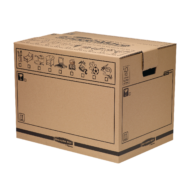 Bankers Box Manual Removal Box Trunk H420xW400xD550mm (5 Pack) 6205701