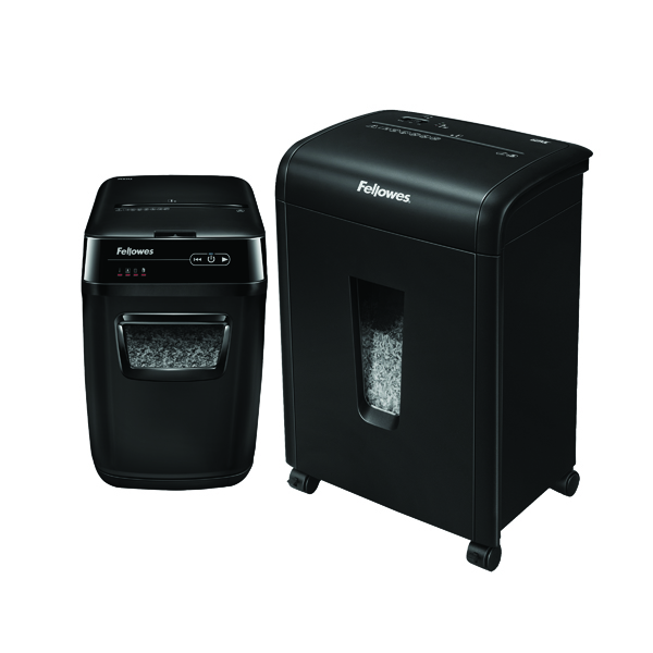 Fellowes Automax 200m Micro Shred Shredder BB810572 FOC Fellowes 62MC Micro Cut Shredder 4685301