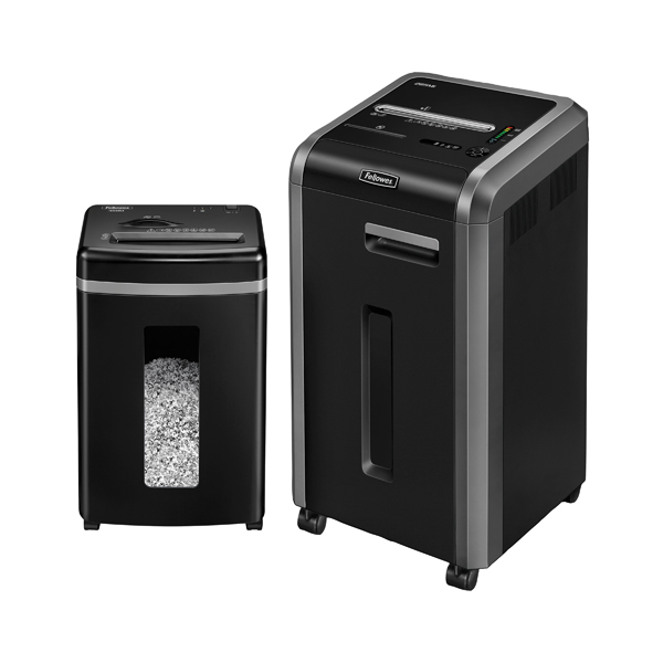 Fellowes 225MI Micro Shred Shredder B810573 FOC Fellowes 450M Micro Cut Shredder 4074201