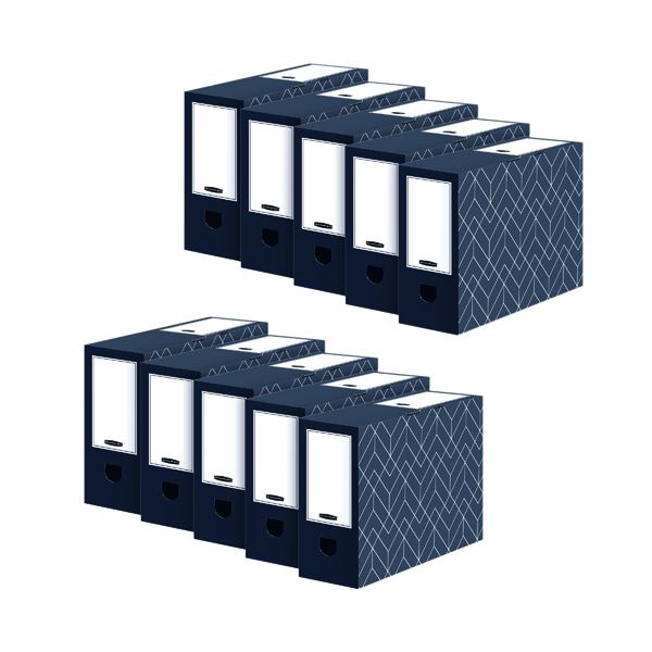 Bankers Box 100mm Transfer File (5 Pack) Buy 1 Get 1 Free 4482901