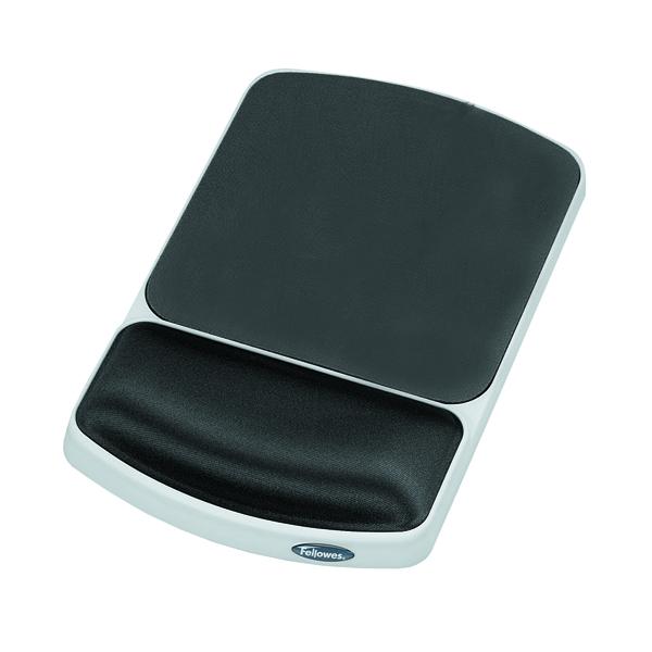 Fellowes Premium Gel Mouse Pad Graphite 91741