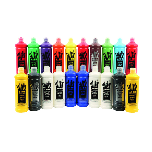 Brian Clegg Ready Mix Paint 600ml Assorted (20 Pack) AR81A20