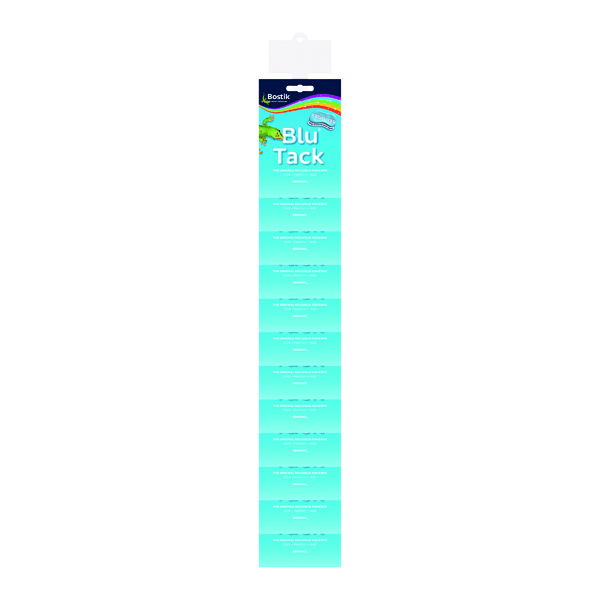 Bostik Blu Tack Impulse Clip Strip (12 Pack) 30813273
