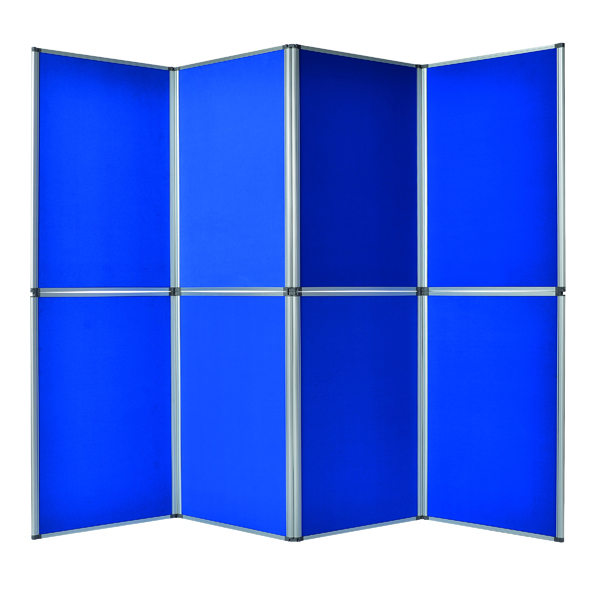 Bi-Office Display System 6 Panel Blue DSP340116