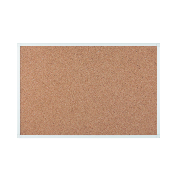 Bi-Office Antimicrobial Cork Board 1800x1200mm BCA271226