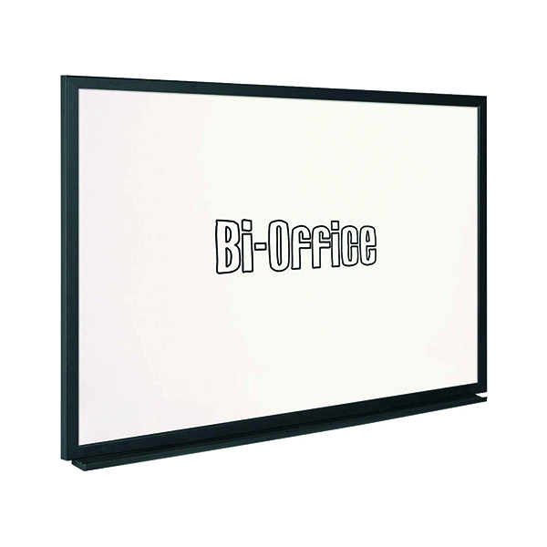 Bi-Office Whiteboard 900x600mm Black Frame MB0700169