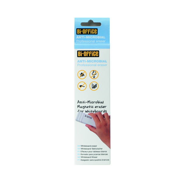 Bi-Office Antimicrobial Magnetic Board Eraser BAA0111